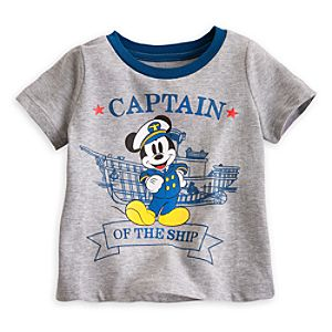 Mickey Mouse Captain Tee for Baby