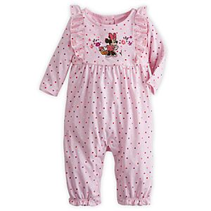 Minnie Mouse Knit Romper for Baby