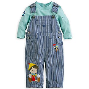 Pinocchio Dungaree Set for Baby