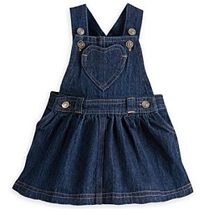 Storybook Denim Skirt Overall for Baby