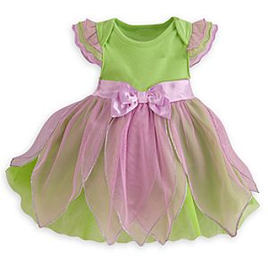 Tinker Bell Disney Cuddly Bodysuit Costume for Baby