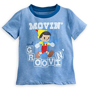 Pinocchio Ringer Tee for Baby