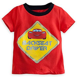 Lightning McQueen Ringer Tee for Baby