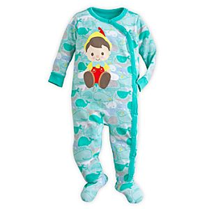Pinocchio Stretchie Sleeper for Baby