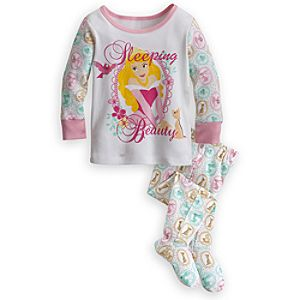 Aurora Footed PJ Pal for Baby - Sleeping Beauty