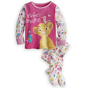 Nala Footed PJ Pal for Baby - The Lion King