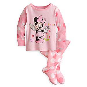 Minnie Mouse Footed PJ Pal for Baby