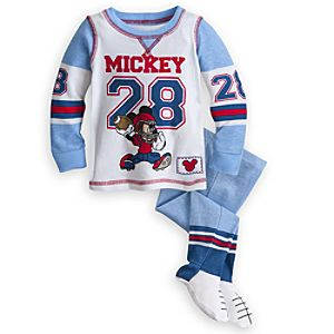 Mickey Mouse Footed PJ Pal for Baby