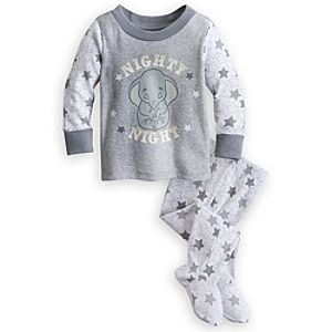 Dumbo Footed PJ Pal for Baby
