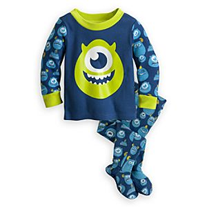 Mike Wazowski Footed PJ Pal for Baby