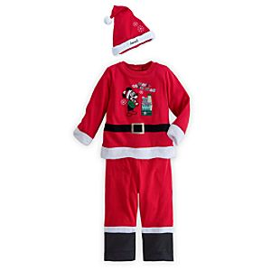 Mickey Mouse Santa Suit for Baby - Personalizable