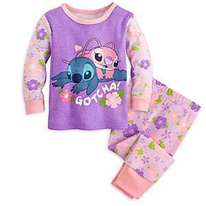Stitch and Angel PJ PALS for Baby
