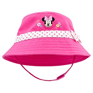Minnie Mouse Bucket Hat for Baby Girls