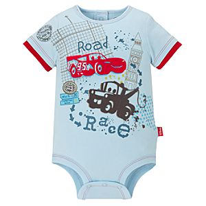Disney Cuddly Bodysuit for Baby Boys -- Cars 2