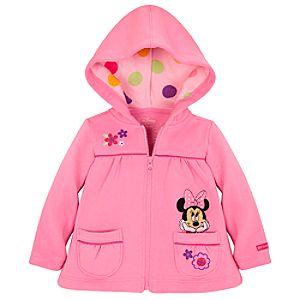 Hooded Minnie Mouse Jacket for Baby Girls