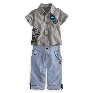 Bambi Shirt and Pants Set for Baby
