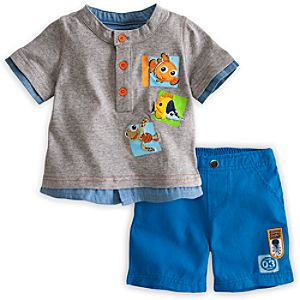 Finding Nemo Tee and Shorts Set for Baby
