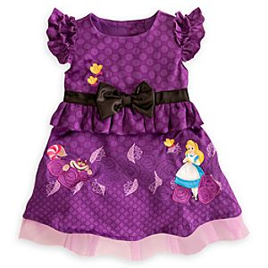 Alice in Wonderland Woven Dress for Baby