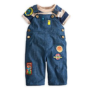 Flik Tee and Overalls Set for Baby - A Bugs Life