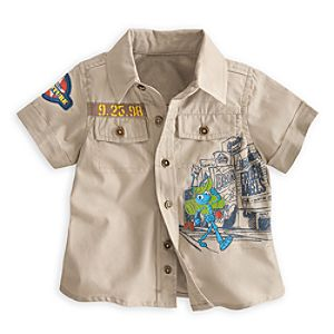 Flik Woven Shirt for Baby - A Bugs Life