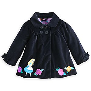 Alice In Wonderland Velveteen Coat for Baby
