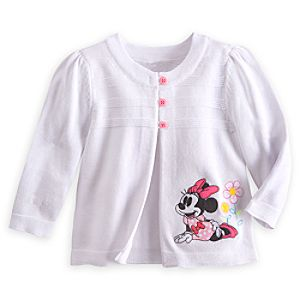 Minnie Mouse Cardigan for Baby