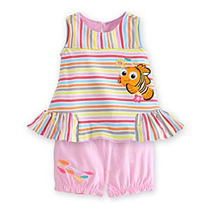 Nemo Dress and Bloomer Set for Baby
