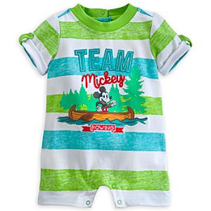 Mickey Mouse Team Mickey Romper for Baby