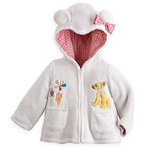 Nala Plush Hooded Jacket for Baby