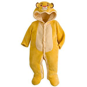 Simba Plush Romper for Baby