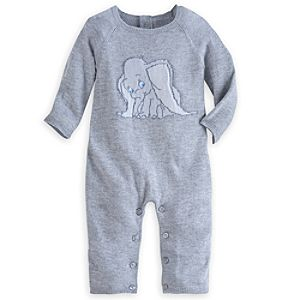 Dumbo Knit Romper for Baby