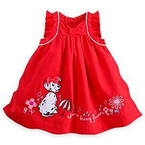 101 Dalmatians Woven Dress Set for Baby