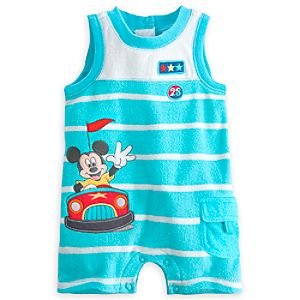 Mickey Mouse Beach Romper for Baby