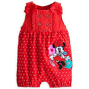 Minnie Mouse City Knit Romper for Baby