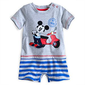 Mickey Mouse City Knit Romper