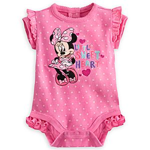 Minnie Mouse Sweetheart Disney Cuddly Bodysuit for Baby