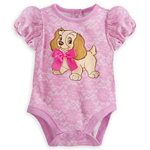 Lady Disney Cuddly Bodysuit for Baby