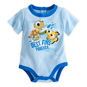 Nemo Best Fins Disney Cuddly Bodysuit for Baby