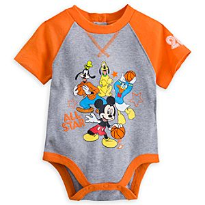 Mickey Mouse and Friends Disney Cuddly Bodysuit for Baby