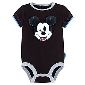 Disney Cuddly Bodysuit for Infants -- Mickey Mouse