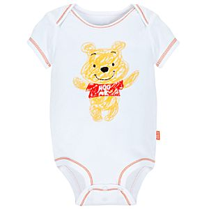 Disney Cuddly Bodysuit for Infants -- Pooh