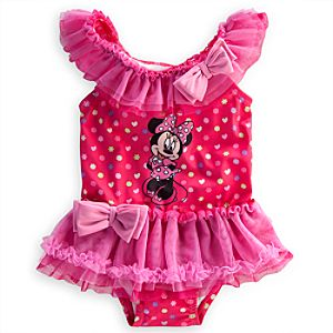 Minnie Mouse Swimsuit for Baby