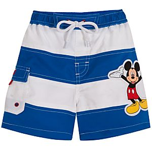 Mickey Mouse Swim Trunks for Baby Boys