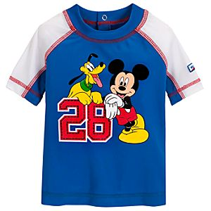 Mickey Mouse Rash Guard for Baby Boys