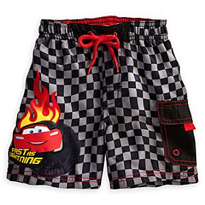 Lightning McQueen Swim Trunks for Baby