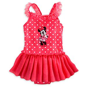 Minnie Mouse Tutu Swimsuit for Baby