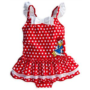 Daisy Duck Swimsuit for Baby