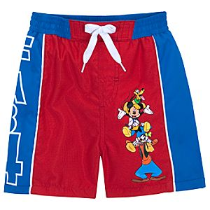 Mickey Mouse and Friends Swim Trunks for Baby Boys