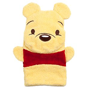 Winnie the Pooh Bath Mitt for Baby
