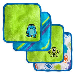 Monsters, Inc. Washcloth Set for Baby